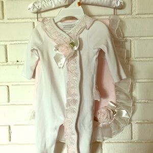 Other - Baby onesie with matching blanket. Great for photo